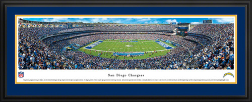 San Diego Chargers Panoramic - Qualcomm Stadium Picture