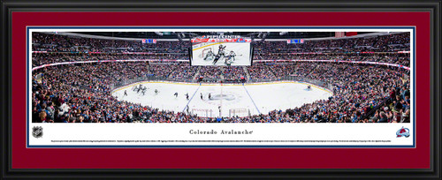 Colorado Avalanche Panoramic Picture - Pepsi Center
