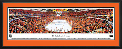 Philadelphia Flyers Panoramic - Wells Fargo Center Picture - Playoffs