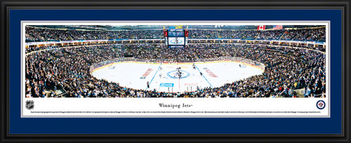 Winnipeg Jets Panoramic - MTS Center Picture