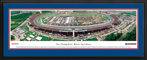 New Hampshire Motor Speedway Panoramic Picture