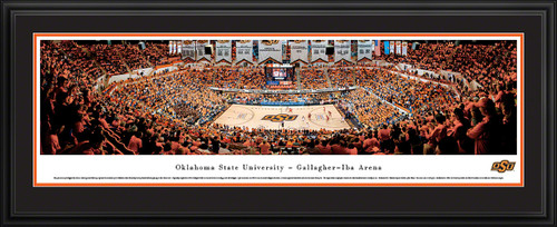 Oklahoma State Cowboys Panoramic - Gallagher IBA Arena Picture - Basketball