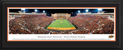 Oklahoma State Cowboys Panoramic - Boone Pickens Stadium Picture