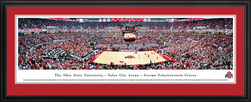 Ohio State Buckeyes Panoramic - Value City Arena Picture - Basketball
