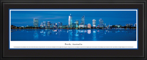 Perth, Australia City Skyline Panorama - Twilight