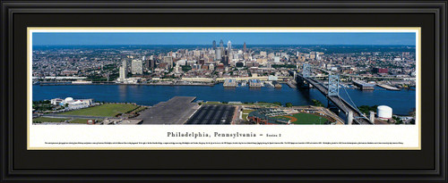 Philadelphia, Pennsylvania City Skyline Panorama
