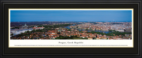 Prague, Czech Republic City Skyline Panoramic Picture