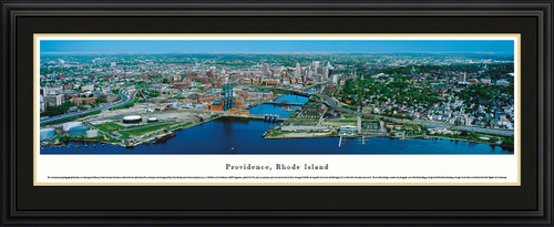 Providence, Rhode Island Skyline Panoramic Picture