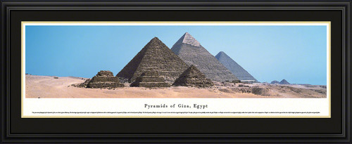 Pyramids Of Giza, Egypt Panoramic Picture
