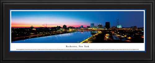 Rochester, New York Skyline Panorama - Twilight