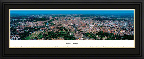 Rome, Italy Panoramic City Skyline Picture