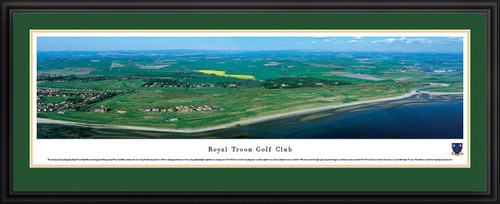 Royal Troon Golf Club Panoramic Picture