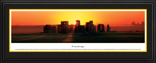 Stonehenge Panoramic Picture