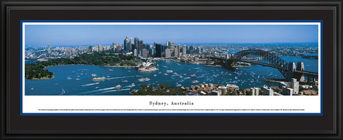 Sydney, Australia City Skyline Panoramic Picture