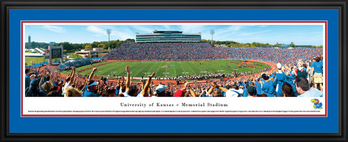 Kansas Jayhawks Football Panorama - Memorial Stadium Picture