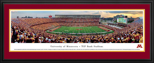 Minnesota Gophers Panoramic - TCF Bank Stadium Picture - Football