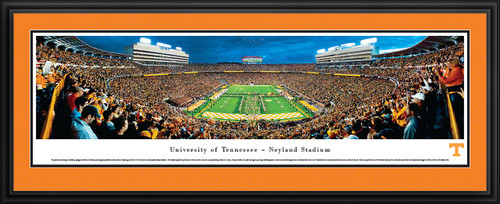"Tennessee Volunteers Football Panorama - Neyland Stadium - Power ""T"""