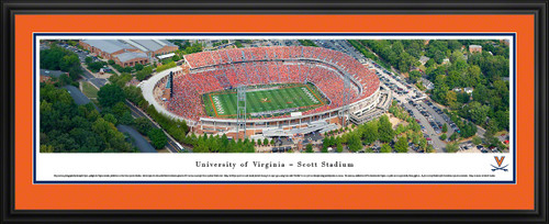 Virginia Cavaliers Panoramic - Scott Stadium Picture