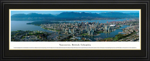 Vancouver, British Columbia, Canada Skyline Panorama