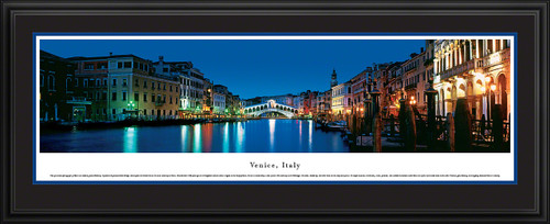 Venice, Italy Panoramic Picture - Twilight