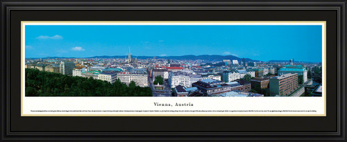 Vienna, Austria City Skyline Panoramic Picture