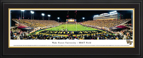 Wake Forest Demon Deacons Panoramic - Grove Stadium End Zone Picture