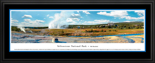 Yellowstone National Park Panoramic Picture