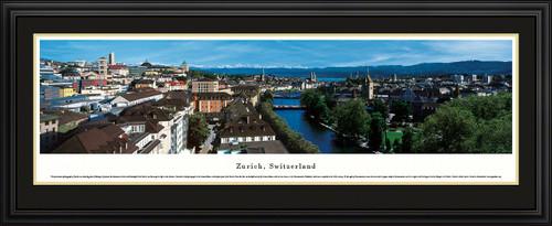Zurich, Switzerland City Skyline Panoramic Picture