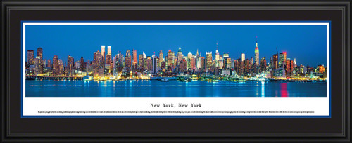 New York City Skyline Panorama - Twilight