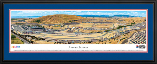 Sonoma Raceway Panoramic Picture