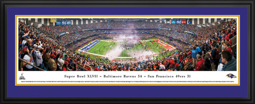 2013 Super Bowl Panoramic - Baltimore Ravens