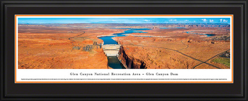 Glen Canyon Dam Panoramic Picture