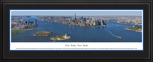 New York City Panoramic Skyline Picture - Lower Manhattan