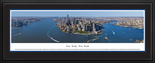 New York City Skyline Panorama - Manhattan