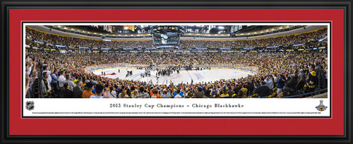 2013 Stanley Cup Panoramic Picture - Chicago Blackhawks