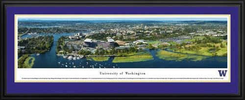 Washington Huskies Football Panoramic - Husky Stadium Aerial Picture
