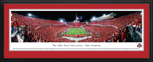 Ohio State Buckeyes Panoramic  - Ohio Stadium Picture