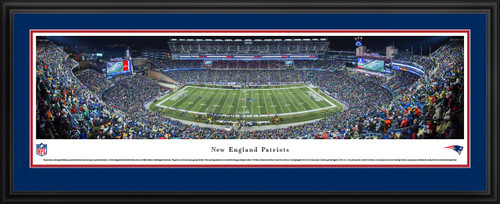 New England Patriots Panoramic - Gillette Stadium Picture