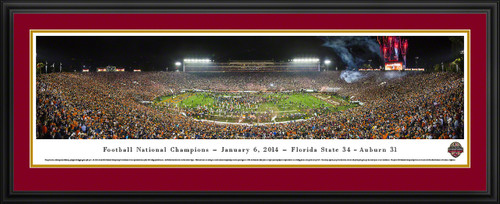 2014 BCS Football Championship Panoramic - Florida State Seminoles