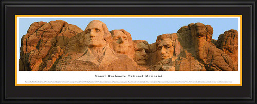 Mount Rushmore Panoramic Poster