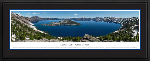 Crater Lake National Park Panoramic - Summer