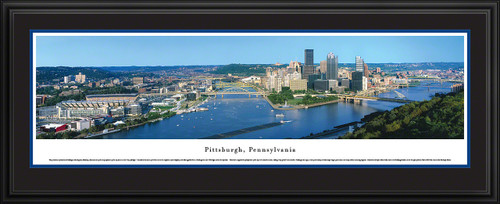 Pittsburgh, Pennsylvania Skyline Panoramic Picture