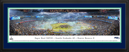 2014 Super Bowl Panoramic Picture - Seattle Seahawks