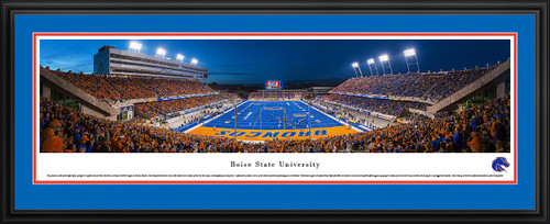 Boise State Broncos Panoramic - Albertsons Stadium Picture