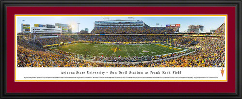 Arizona State Sun Devils Panoramic Picture - Sun Devil Stadium