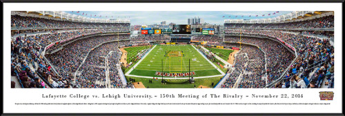 Lafayette vs. Lehigh Rivalry Panoramic -150th Meeting - Yankee Stadium Picture