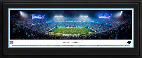 Carolina Panthers Panoramic Picture - Bank of America Stadium