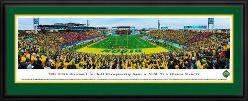 2015 NCAA FCS Football Championship Panoramic Picture - NDSU Bison