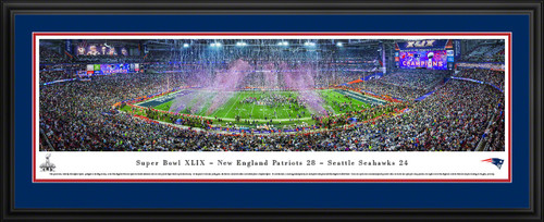 2015 Super Bowl Panoramic - New England Patriots