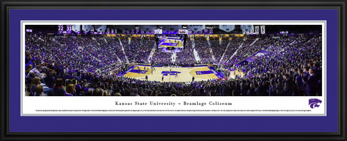 Kansas State Wildcats Basketball Panoramic - Bramlage Coliseum